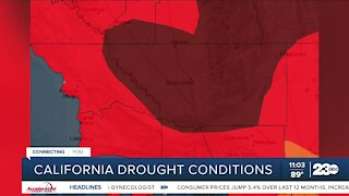 Kern County continues to see exceptional drought conditions