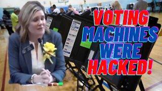 VOTING MACHINES WERE HACKED!!!! Elena Parent Georgia Senate Hearing HB 316