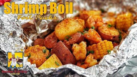 Shrimp Boil | Seafood Boil | Foil Packets |