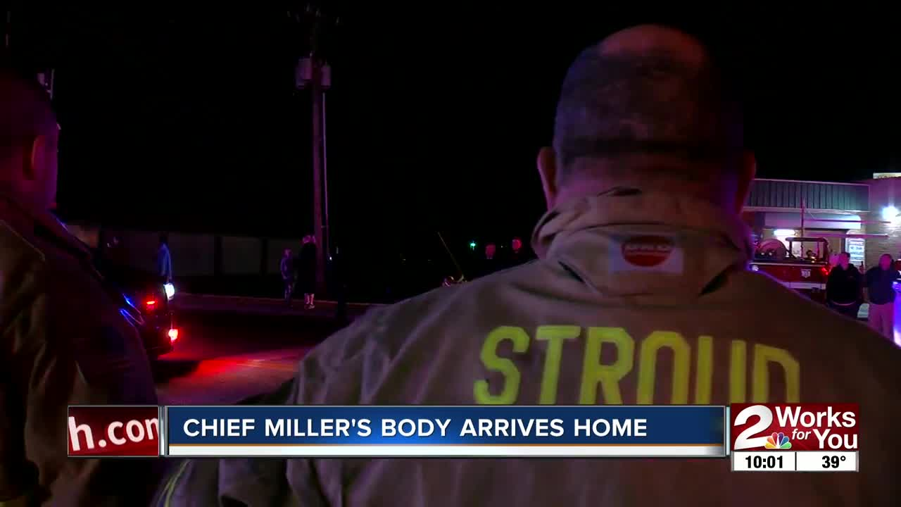 MANNFORD POLICE CHIEF BACK HOME