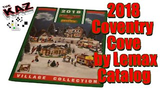 2018 Coventry Cove by Lemax Christmas Catalog