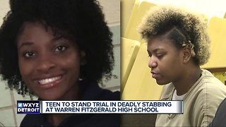 Teen to stand trial in deadly stabbing at Warren Fitzgerald High School