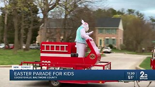 Easter Parade held for kids in Cockeysville