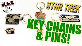 Vintage Star Trek Key Chains & Pins