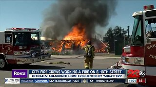 Fire crews get East Bakersfield house fire under control