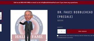 Dr. Fauci bobblehead