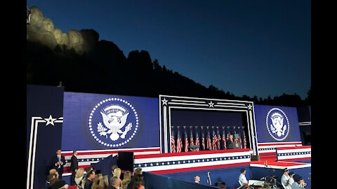 President Trump and First Lady Attend 2020 Mount Rushmore Fireworks Celebration