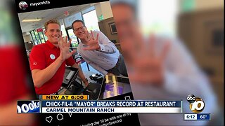 Rancho Bernardo man eats Chick-Fil-A 114 days in a row