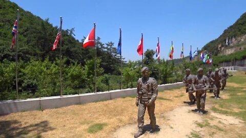 Gloster Hill Memorial park for Royal army, Korean war