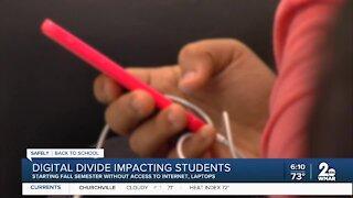 Digital divide impacting students