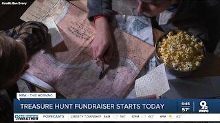 Treasure hunt fundraiser starts today