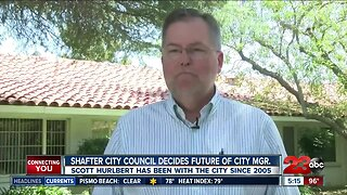 Shafter city council decides future of city manager