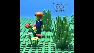 Guess the Bible story.With sound