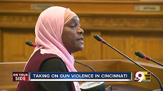 Special session of council takes on Cincinnati gun violence