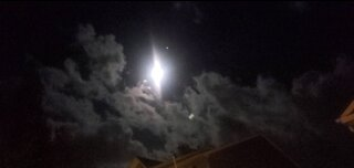 Bright Moon, Fast Clouds