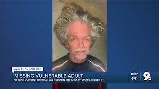 Police search for missing, vulnerable 61-year-old man