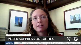 Voter suppression tactics
