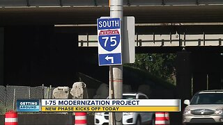 Segment 3 of I-75 modernization project now underway with construction from 13 Mile to 8 Mile