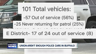 Union: There aren't enough police cars in Buffalo
