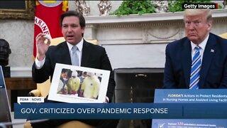 Gov. criticized over pandemic response