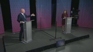 Senator McSally, Democratic nominee Mark Kelly hold debate (Part 1)