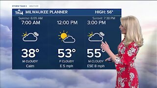 A chilly night ahead before a warmer Sunday