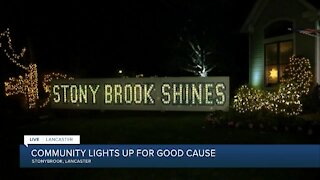 Stony Brook Shines lights up the neighborhood for their 13th year