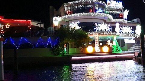 Mandurah Canal Festive Lights