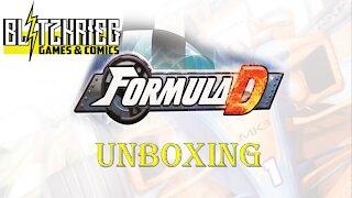 Formula D Board Game Unboxing