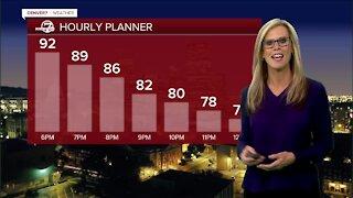 Thursday evening forecast: record heat expected
