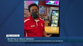 We're Open: Buffalo Wild Wings