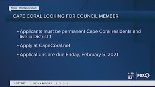 City of Cape Coral searches for new council member
