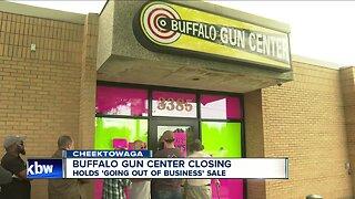 Buffalo Gun Center holds liquidation sale
