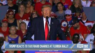 Trump Slams Indictments Against Trump Organizationn