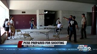 PCSD: Prepared for active shooter situation at moments notice