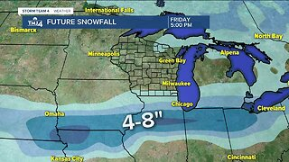 Light snow possible Thursday