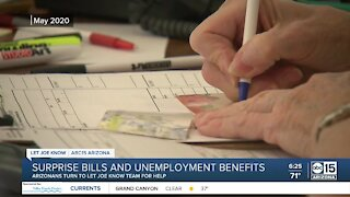 LJK: Surprise bills and unemployment benefits