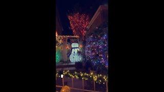 Man Shows Off His Incredible Christmas Lights!