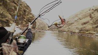 Steelhead fishing continues