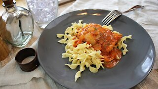 Delicious chicken paprikash recipe