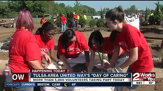"""Tulsa-area United Way's """"Day of Caring"""""""