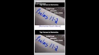 Top Verses To Memorize, Psalms 1:1-2