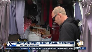 New SD vehicle habitation law takes effect