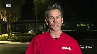 Southwest Florida community donates supplies during fire