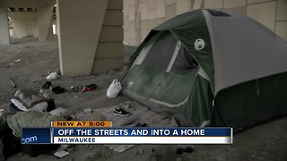 Milwaukee County moving homeless into homes