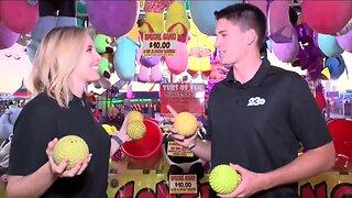 Kari and Matt compete at Kern County Fair