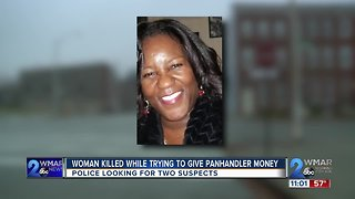 Woman Killed While Trying To Give Panhandler Money