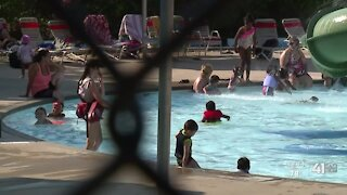 Some KC-area pools face overcrowding as extreme heat hits metro