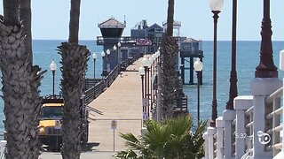 Some residents concerned that Oceanside beaches, golf courses remain open