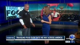 Traveling Food Dude eats his way across America